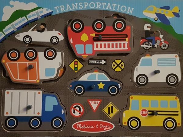 Transportation puzzle - Melissa & Doug